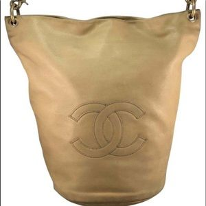 Hard to find Chanel Bucket/hobo bag